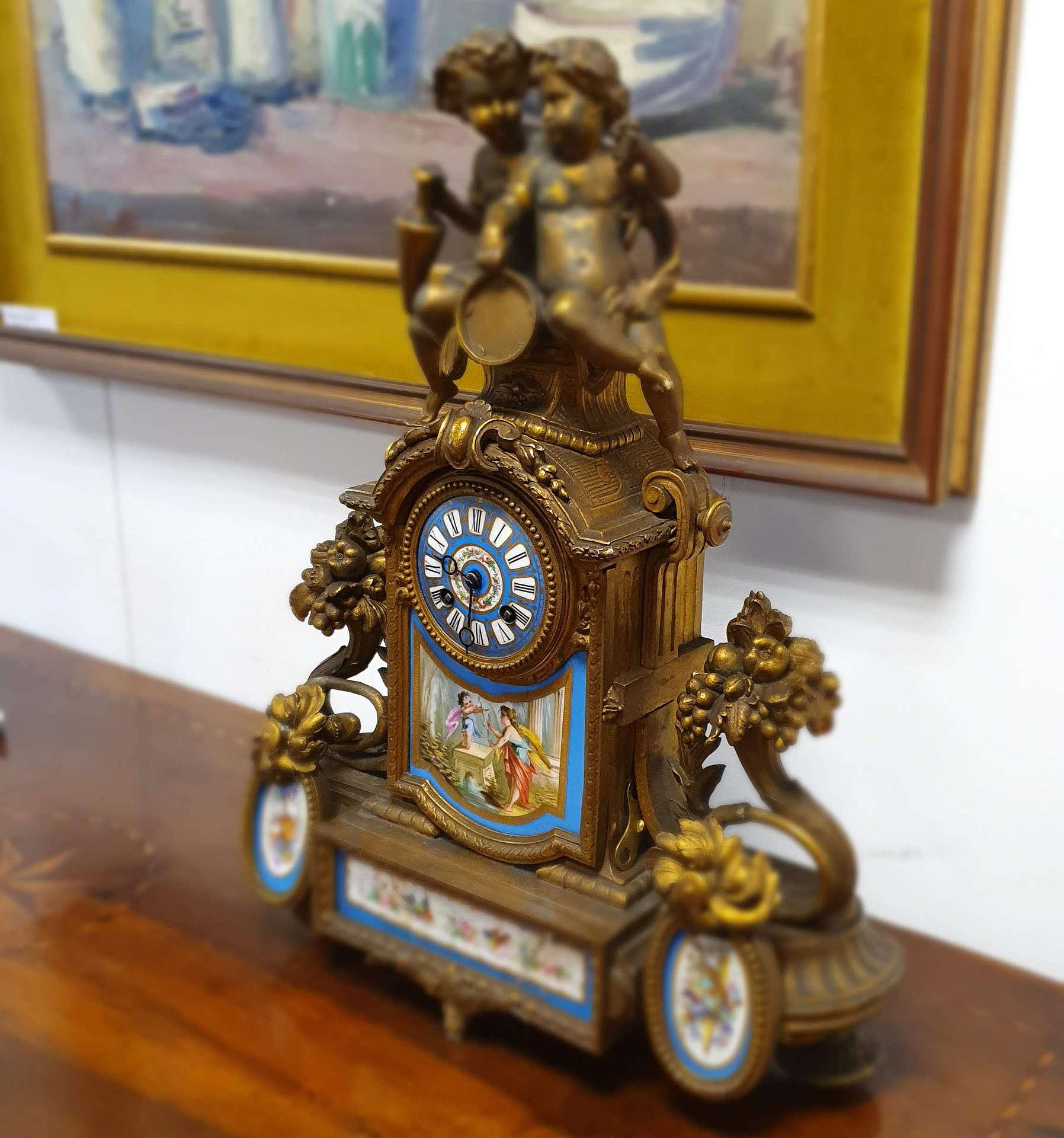 Orologi da tavolo '800   Oggetto Antico