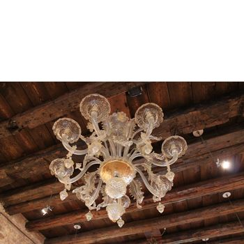 Chandelier with eight lights