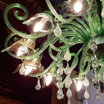 "Antique Venetian Chandelier ""Calle"""